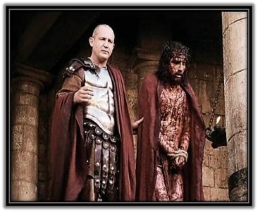 Jesús junto a Pilato