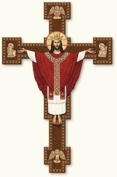 Jesús Resucitado con la Cruz