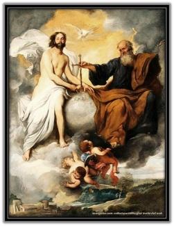 Jesús Resucitado - Padre y Espiritu Santo