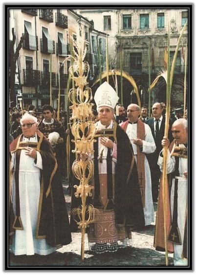 Mons. D. José Guerra Campos - Domingo de Ramos