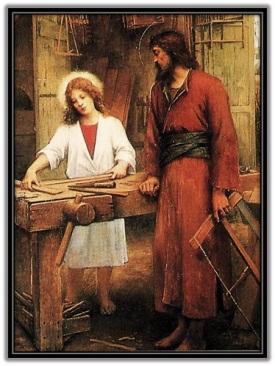 San José Obrero - Niño Jesús
