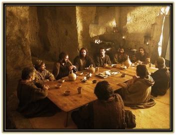Santa Cena - Institución Eucaristía