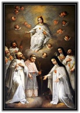 Virgen de la Merced - santos y santas mercedarios