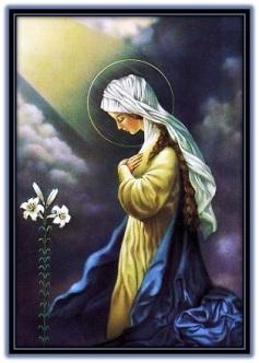 Virgen María infancia