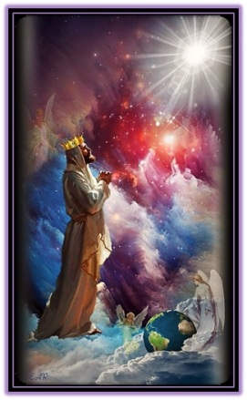 Dios coronado creador del Universo