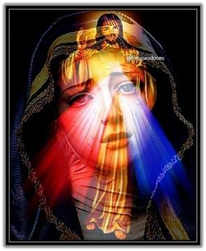 Divina Misericordia y la Virgen Dolorosa