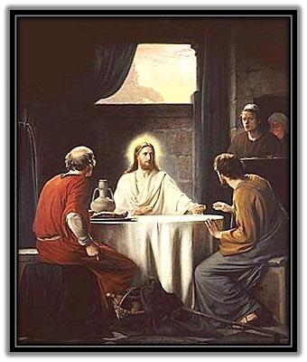 Jesús Resucitado y aparición Apóstoles