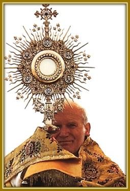 Juan Pablo II - Jesús Sacramentado