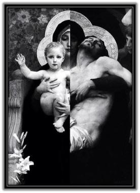 María - Niño Jesús - Jesús muerto