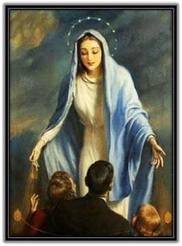 María y familia