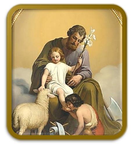 San José - Niño Jesús - San Juan Bautista