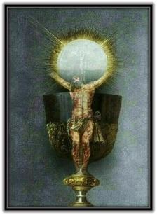 Jesús haciendose presente en la Cáliz
