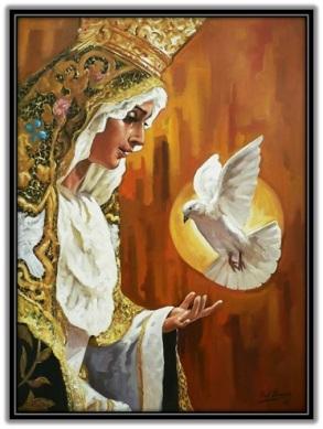 María Reina y Espíritu Santo