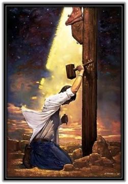 Por mis pecados está Jesús Crucificado