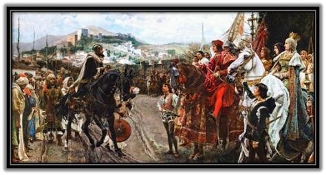 Reyes Católicos y la rendición de Granada