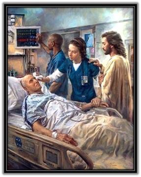 Jesús en el hospital