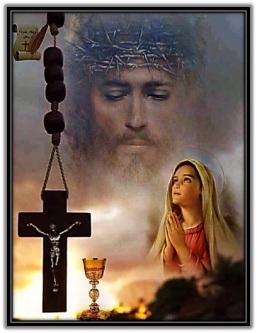 Jesús - María - Cruz - Cáliz