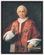 Papa León XIII de pie
