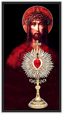 Preciosa sangre de Cristo - Custodia