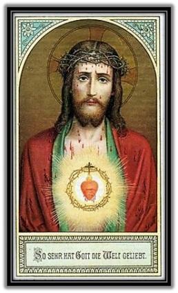 Sagrado Corazón de Jesús - Sangrando