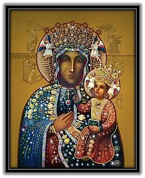 Virgen de Czestochowa - Polonia
