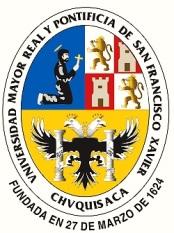 Escudo Uniersidad Mayor Real y Pontifica de San Francisco Javier - Chuqisaca