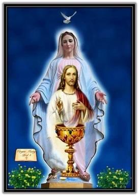 Espíritu Santo - María - Jesús - Cáliz