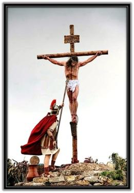 Jesús traspasado por la lanza