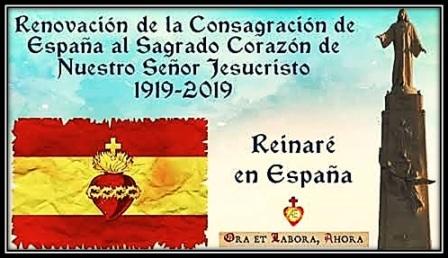 Renovación de la Consagración de España al Sagrado Corazón