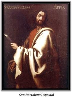 San Bartolomé - Apostol