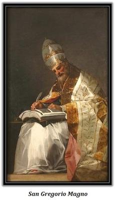 San Gregorio Magno - sentado