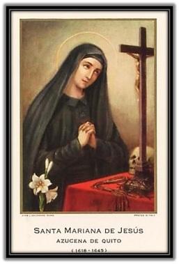 Santa Mariana de Jesús (Azucana de Quito)