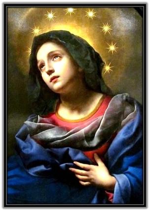 Imagen de María coronada con las 12 estrellas