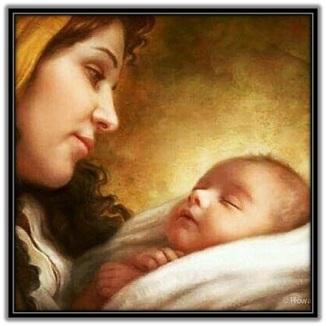 Imagen de María y Niño Jesús