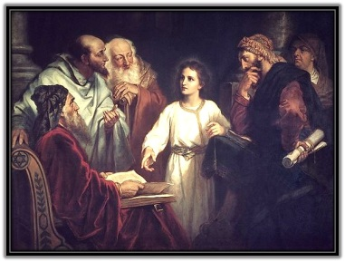 Jesús enseñando a los doctores de la ley