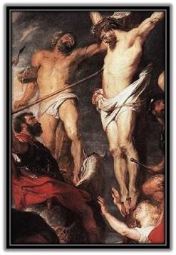 Jesús traspasado por la lanza - 2