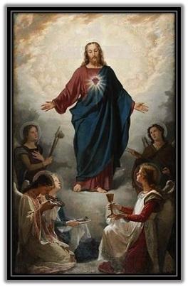 Sagrado Corazón y sus ángeles