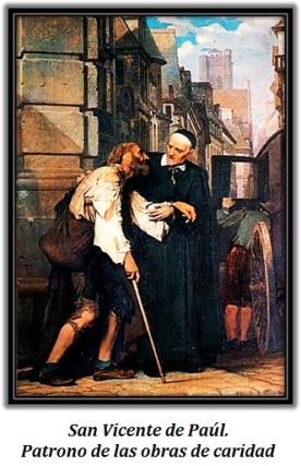San Vicente de Paul - Patrono de las obras de caridad