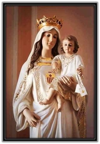 Virgen de la Merced - Niño Jesús
