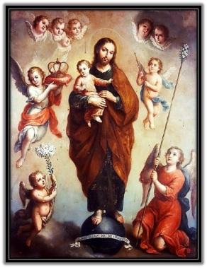 San José - Niño Jesús - Ángeles - Corona
