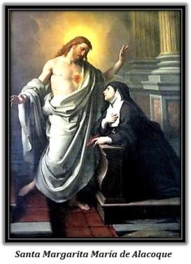 Santa Margarita Mª de Alacoque