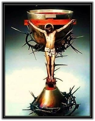 Crucifijo - Cáliz - Espinas