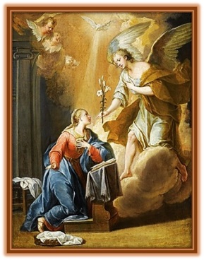 la Anunciación de María