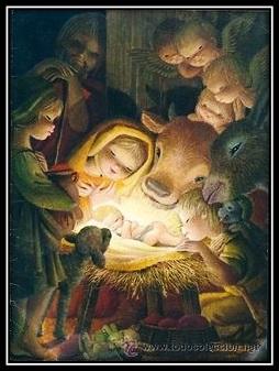 Comic Nacimiento de Jesús