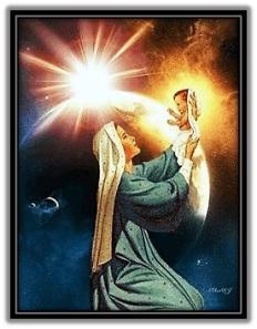 María - Niño Jesús - Estrella