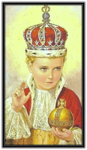 Niño Jesús Rey del Universo