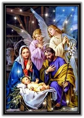 Sagrada Familia y ángeles