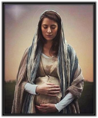 Virgen María embarazada del Niño Jesús