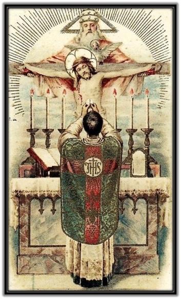 Eucaristía y Santísima Trinidad