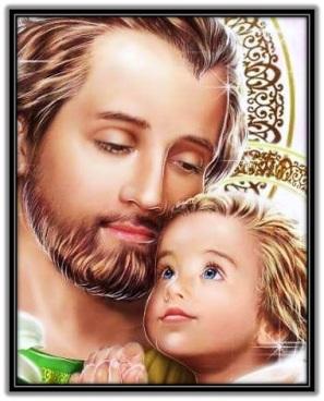 Imagen de San José y Niño Jesús